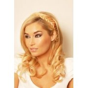 Beauty Works Hair Extensions Fish Tail Plait Headband.