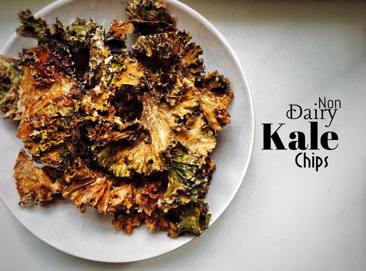 Non-dairy Kale Chips  #nikosuvrohlik