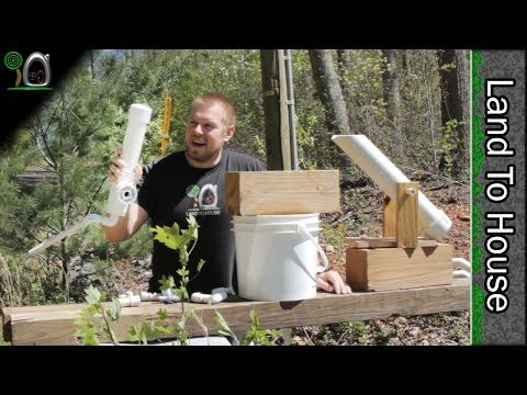 External Bell Siphon for Multiple Aquaponic Grow Beds - YouTube