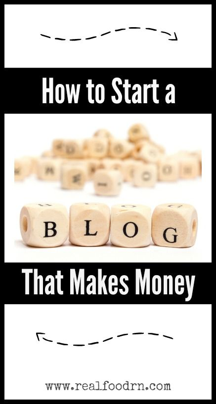 How to Start a Blog That Makes Money. How to turn your passion into an online business that allows you financial freedom, as well as complete flexibility. After two years I am now able to quit my day job (so I went casual instead)! realfoodrn.com #blogging #howtostartablog