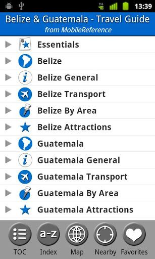 Travel Belize and Guatemala: Illustrated Guide, Phrasebook & Maps. Includes San Ignacio, Caye Caulker, Antigua, Lake Atitlan, Tikal, and more.  (Mobi Travel)<p>MobileReference guides help you get the most out of your vacation. The guides are available for most destinations worldwide and always include FREE offline GPS maps. Over 3 million MobileReference Travel Guides have been downloaded.<p>The world's most popular electronic guides developed for your smartphone have the following…