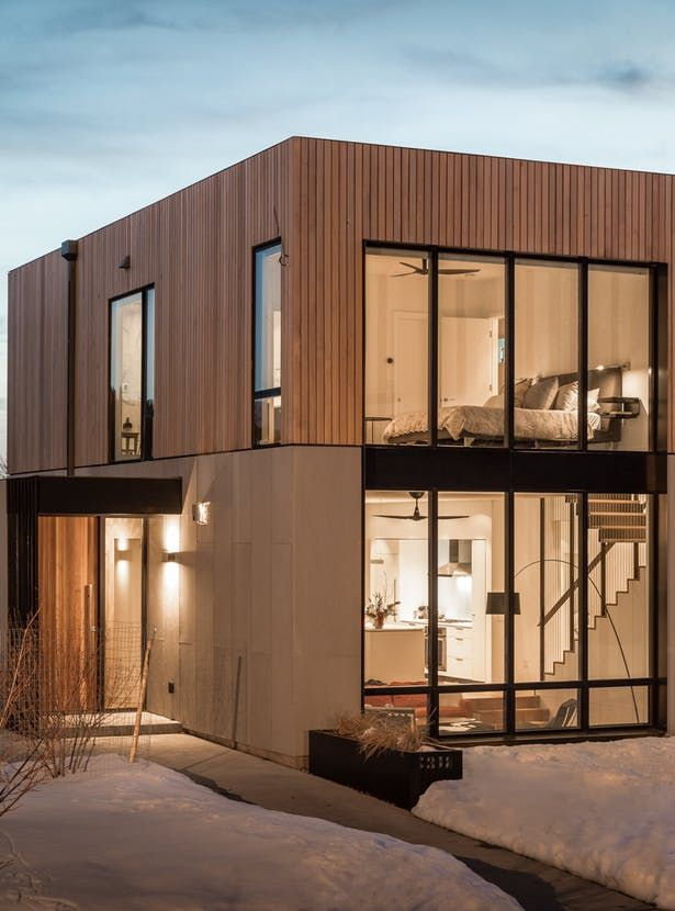 Box House Modern House Exterior House Exterior Architecture
