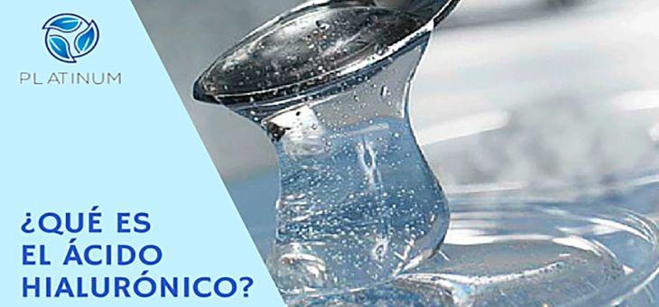 ¿Qué es el ácido hialurónico?