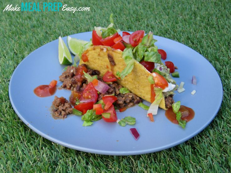 Easy Lunchtime Taco