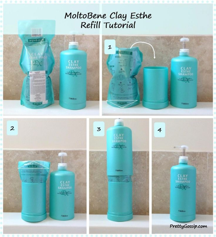 MoltoBene Clay Esthe Pack : Best Hair Conditioner Review and Tutorial on how to refill on www.PrettyGossip.com #moltobene