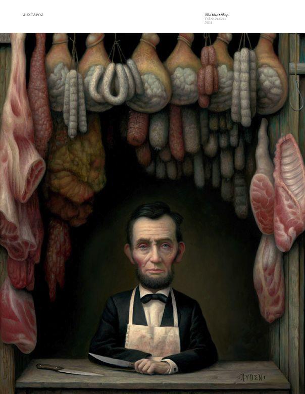 Mark Ryden - Meat shop