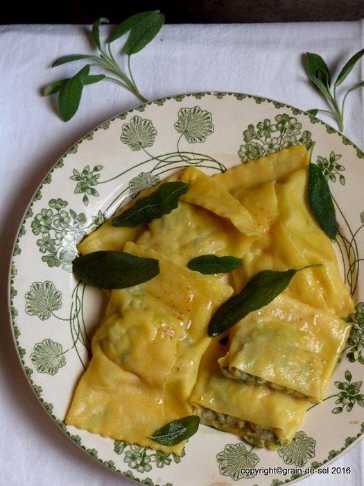 grain de sel - salzkorn: Blog-Buster-Zucchini-Maultaschen