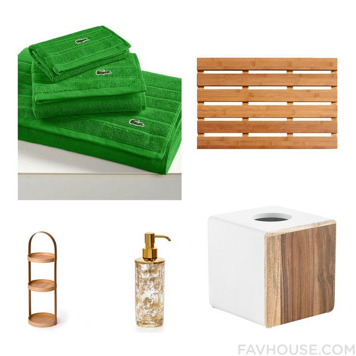 Lacoste bathroom accessories