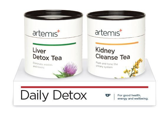 A fabulous stocking filler! Great daily detox duo of Artemis Teas to cleanse your body after all the festivities!