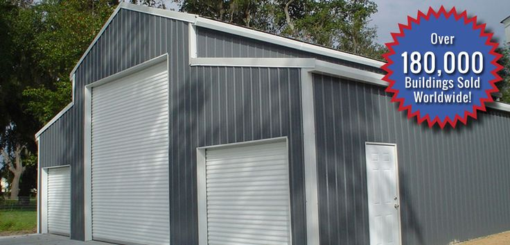 17 best ideas about steel buildings for sale on pinterest for American garage builders