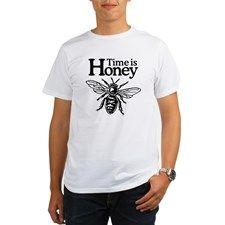 Time is Honey Organic Men's T-Shirt for