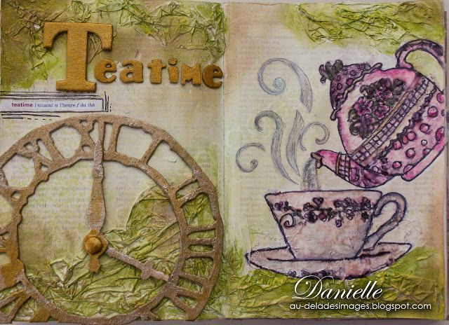 Craft Barn Alpha Challenge, Letter T. for TEATIME!!!