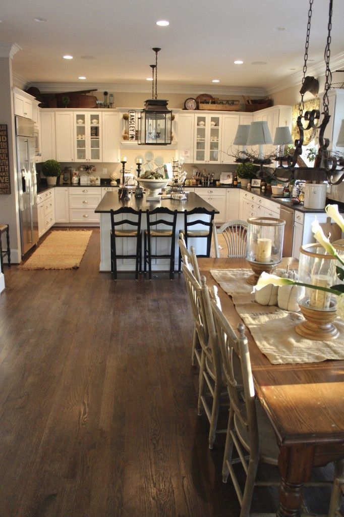 This layout perfect kitchen no peninsula separating the for Perfect kitchen layout with island