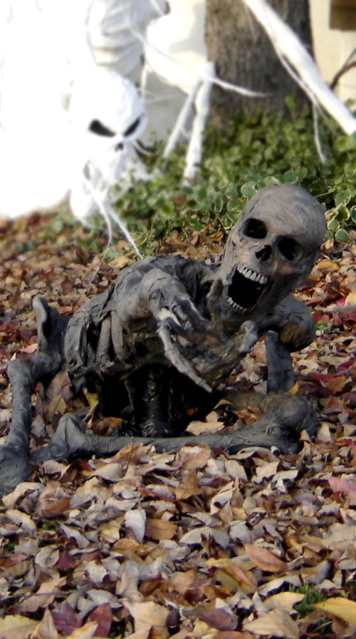 Pumpkinrot Yard Haunt ------ Another blogger that has great ideas...