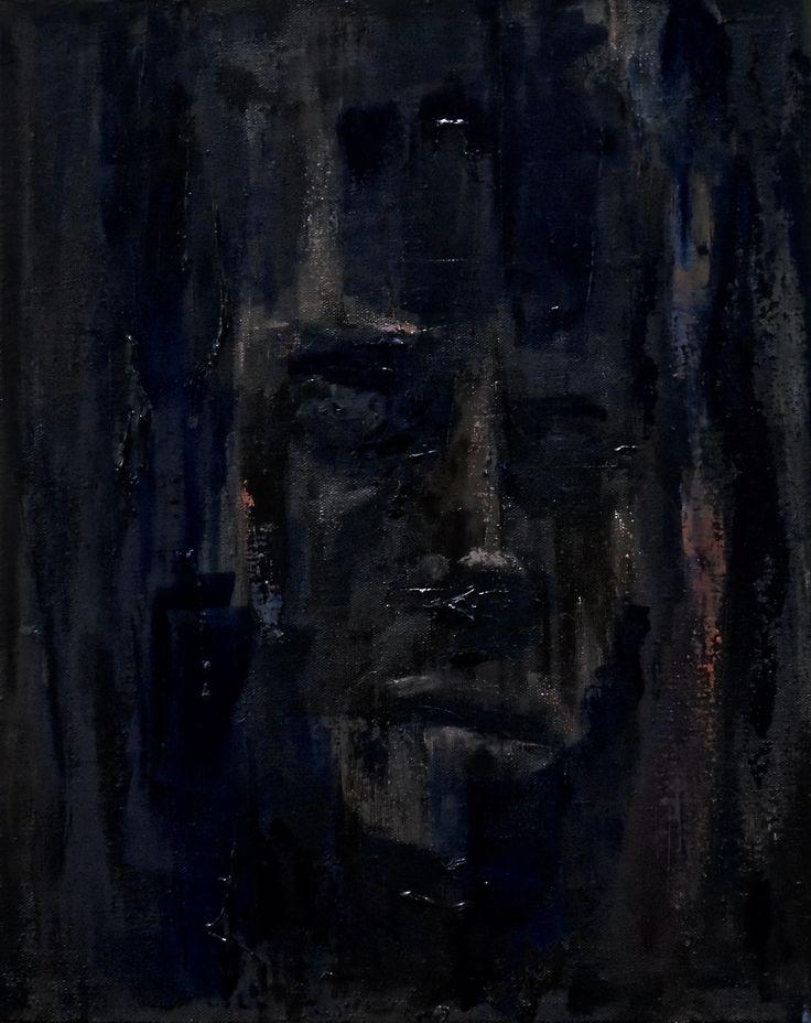 Surrender by Polish minimal painter Jacek Sikora