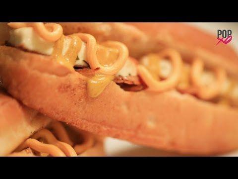 How To Make Chilli Cheese Paneer Hot Dog - POPxo Yum - YouTube