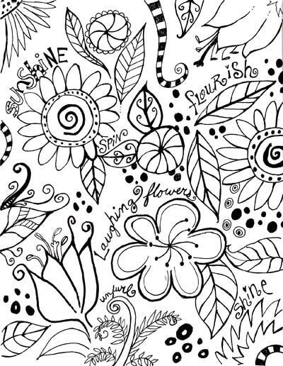584 best templates etc images on pinterest doodle flowers copy paste into a word document page set up as zero margins center and stretch picture to fit paper pronofoot35fo Gallery