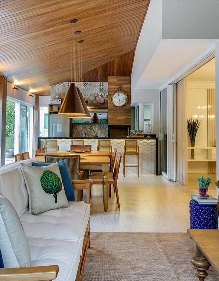 25+ melhores ideias de Varanda gourmet decorada no Pinterest Varanda, Varandas pequenas e  -> Decoração Para Area Externa Churrasqueira