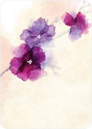 Watercolor Tattoo Idea. This would look nice on my body haha. On the back of the shoulder or wrist.