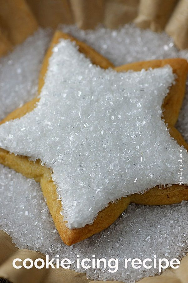 Different types of icing and frosting ~~ Best Recipes Cookie Icing Recipe