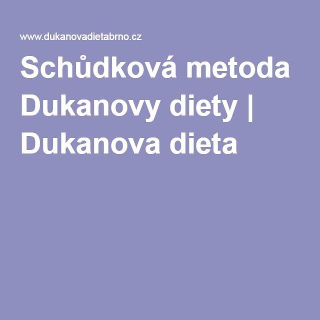 Schůdková metoda Dukanovy diety | Dukanova dieta