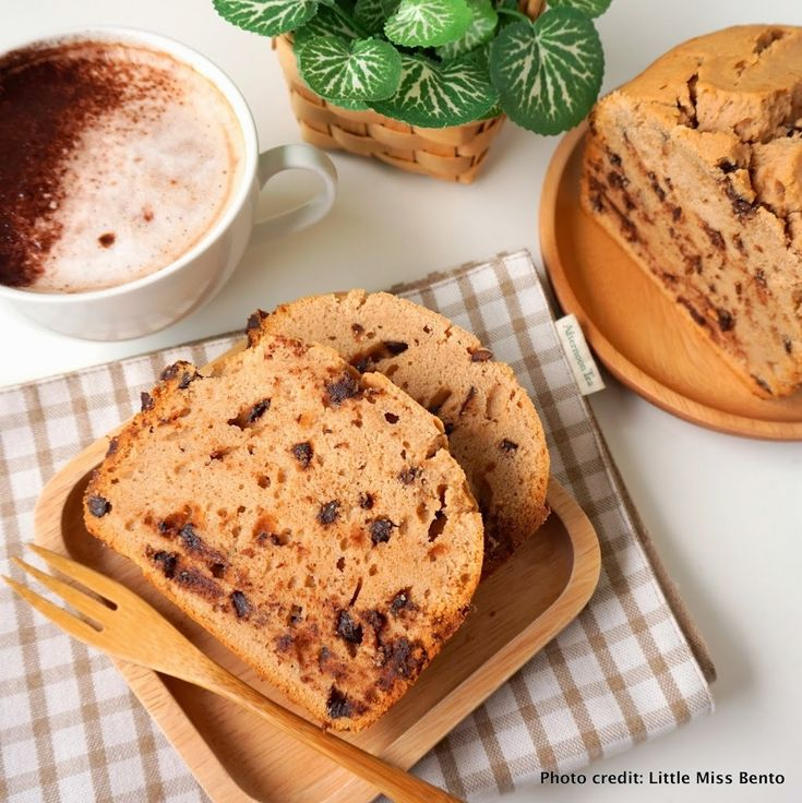 Milo Cake Recipe using Panasonic Bread Maker - Little Miss Bento