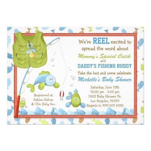 Fish Themed Baby Shower Invitations: Baby Shower Invitation: Baby Shower Invitations Fish Theme