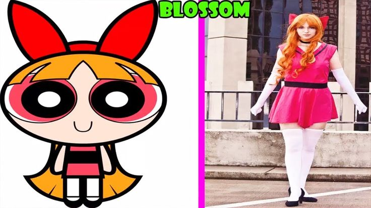 The Powerpuff Girls characters In Real Life