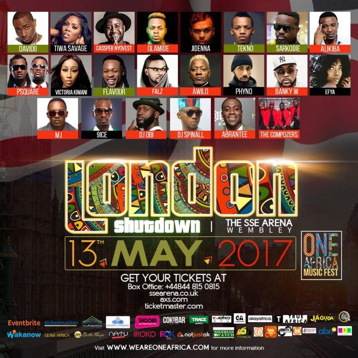 Live Stream: One Africa Music Fest London  Stream the One Africa Music Fest as it kicks off in London with Africas most renowned artists such as