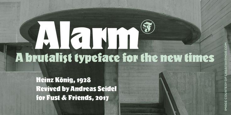 Alarm Font by Fust & Friends » Fontspring