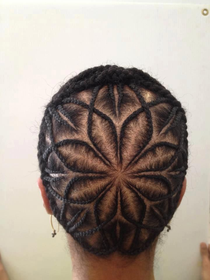 Amazing hair design. I love this so hard.