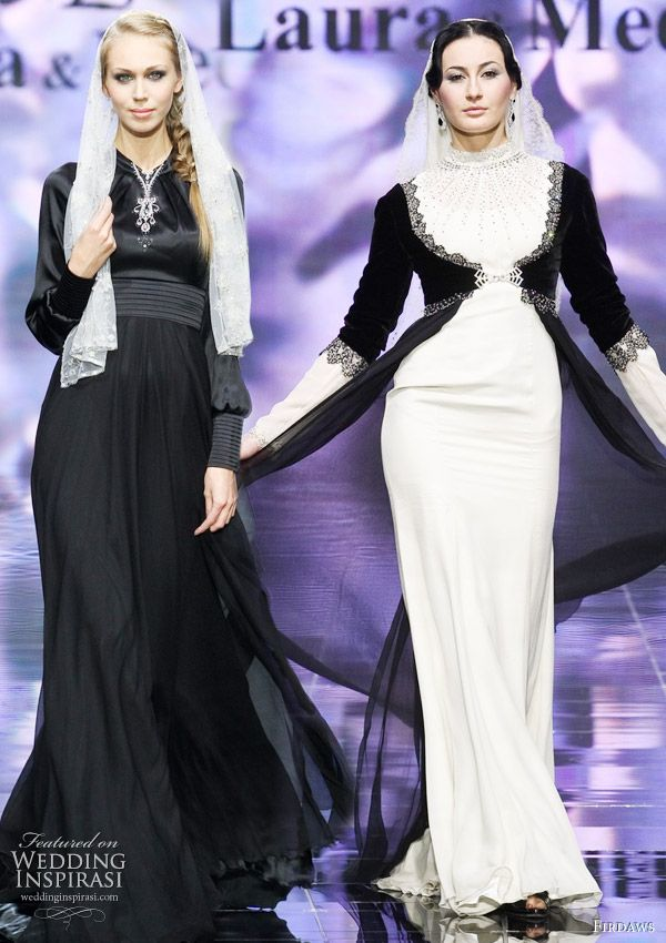 ...created by fashion designer sisters Laura and Medni Arzhiyeva, who hail from Chechnya.