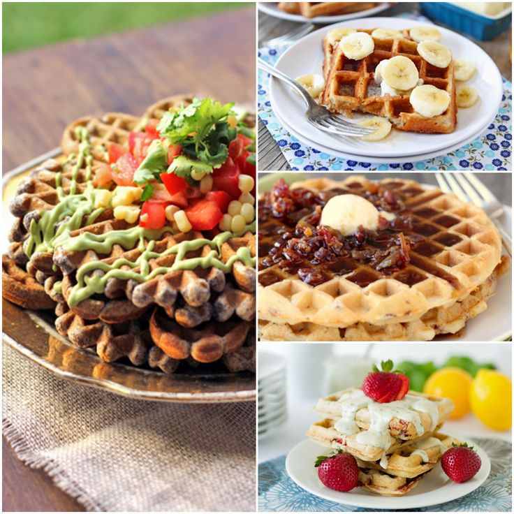 Recipe for waffles, The black and Waffles on Pinterest
