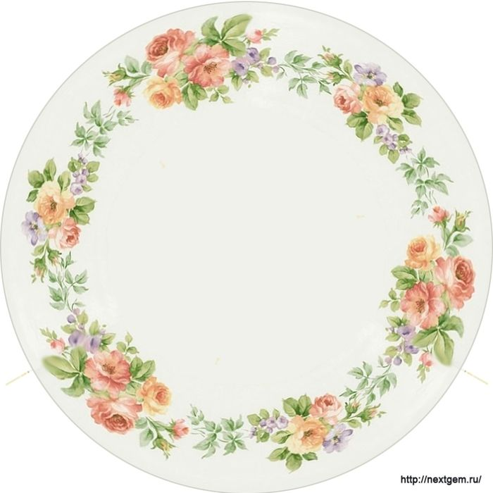 Round floral frames for decoupage. - 9 (700x700, 181Kb)