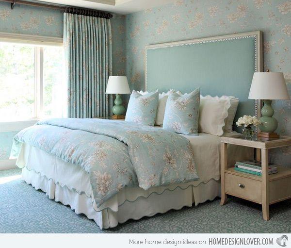 20 Master Bedroom Colors   Home Design Lover. Like the brightness.