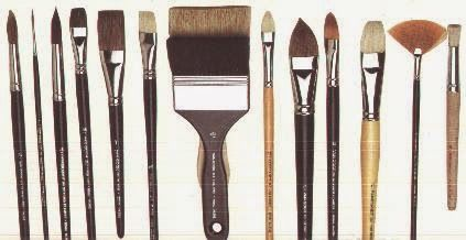 Taller Lash: Para comenzar a pintar ¿que pinceles comprar'?