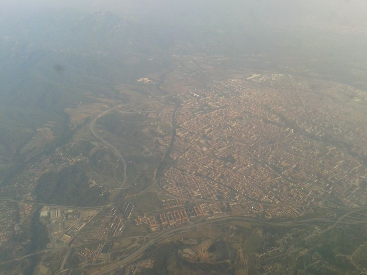 Barcelona from the air :)