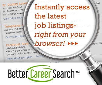Better Career Search   Latest Job Opportunities, Employment Listings,  Salary Calculator, Interviewing Tips, Etc.