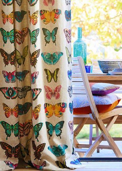 print & pattern: HOME DECOR - harlequin amazilia