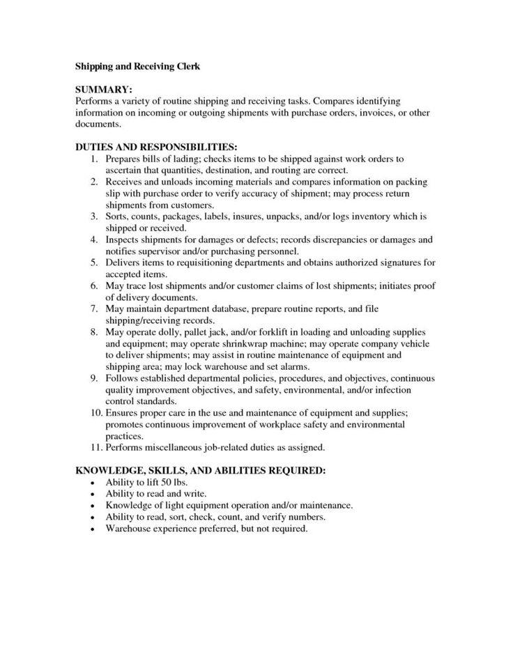 Inventory Clerk Resume Inventory Clerk Resume Cover Letter Resumes