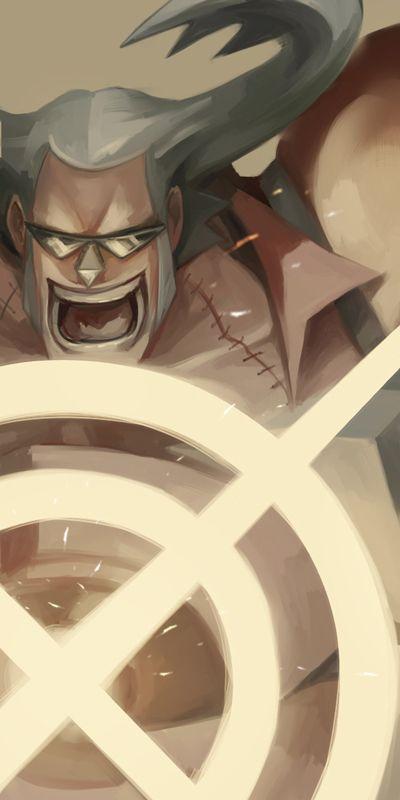 Franky la cuota cyborg de los mugi warss