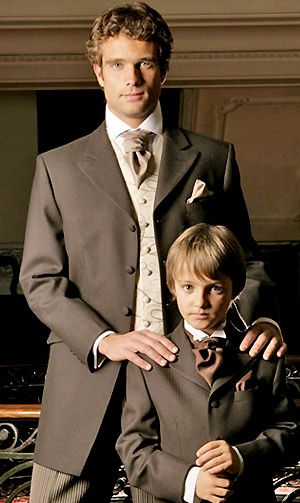 Fall wedding tuxedo | http://www.fantasywaistcoats.co.uk/pictures/suits/evening/brown-p_ed ...