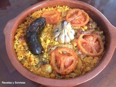 Arroz al horno ! Receta paso a paso . Una carga de sabor increíble . Un arroz buenísimo que te encantará y no es difícil. http://recetasysonrisas.blogspot.com.es/2017/03/arroz-al-horno.html #arroz #arrozalhorno #cerdo #valencia #comida #paella