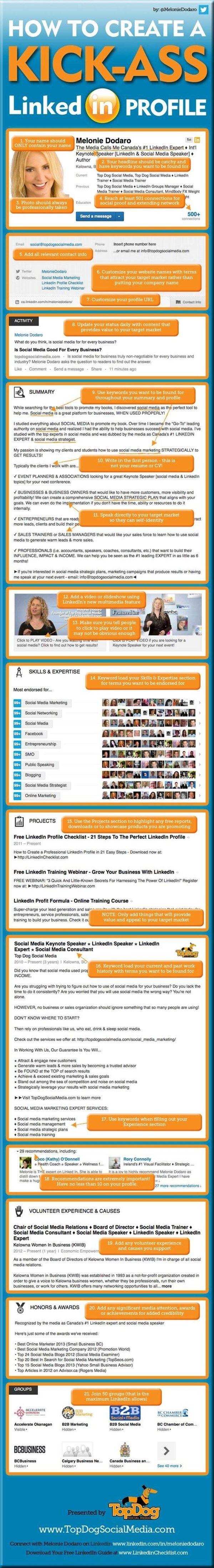 How to Develop a Kick-Ass LinkedIn Profile