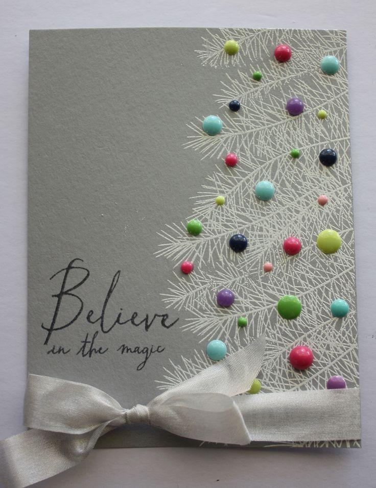 Christmas Cards | Scrapbook Cards | DIY Cards | Stamping | Creative Scrapbooker Magazine #cards #christmas