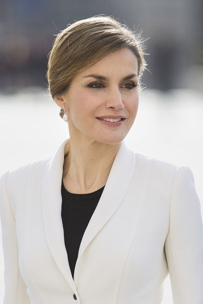 Queen Letizia of Spain attends the Pascua Militar ceremony at the Royal Palace on January 6, 2016 in Madrid, Spain.