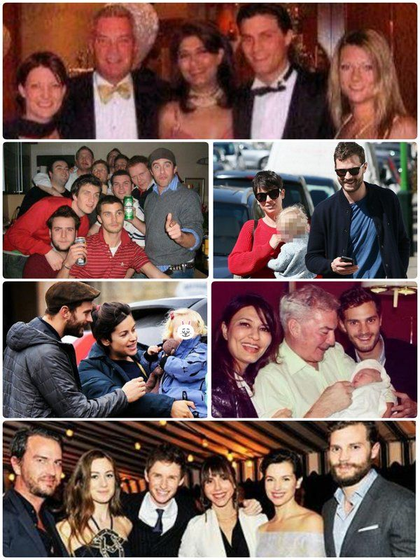"""""""In general if I wasn't an actor- the things that I care about most are my family and mates.  I love both.""""- Jamie Dornan"""