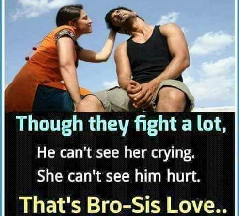 Though They Fight A Lot Brother Sister Quotes Funny Brother Sister Love Quotes Siblings Funny Quotes
