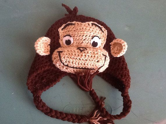Curious George  by TheKraftyKraut on Etsy