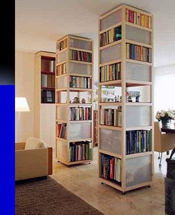 boekenkast als scheidingswand - Google zoeken